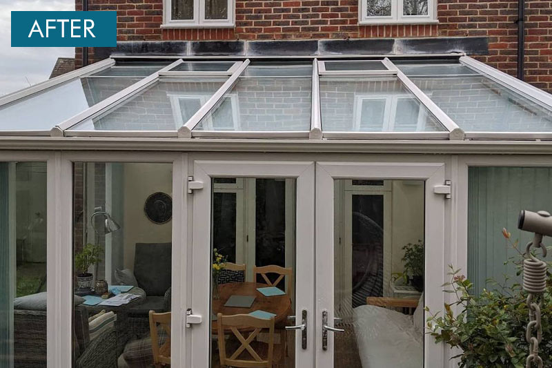 conservatory roof cleaaning sussex