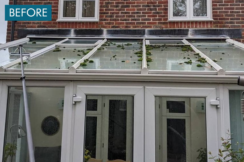 conservatory roof cleaaning west sussex