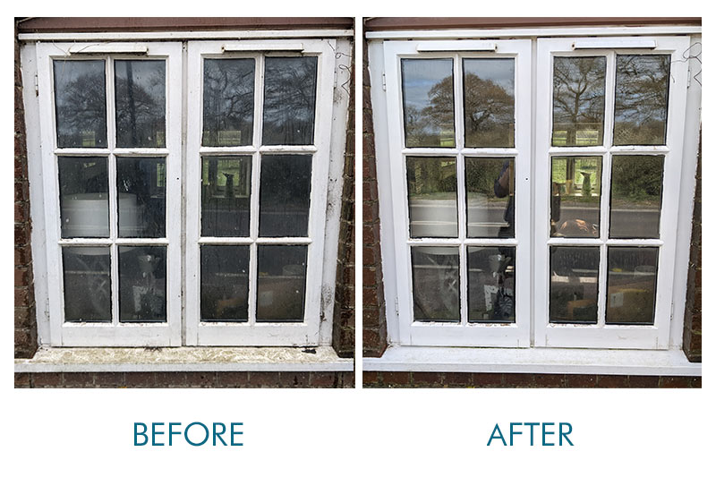 west sussex pure water window cleaning